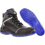 Albatros Bezpečnostní obuv ESD S3 Albatros BLUETECH MID ESD SRC 631150-42, černá, modrá, vel.: 42
