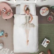 Snurk Ballerina dekbedovertrek Snurk-1-persoons 140 x 220 cm incl. kussensloop 60 x 70 cm