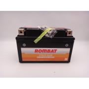 Baterie moto, scuter, atv 12V 9Ah curent pornire 100A SAE AGM, RBZ10S-BS Rombat