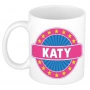 Shoppartners Voornaam Katy koffie/thee mok of beker