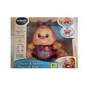 BAYSHORELLP Vtech Touch & Learn Musical Bee Pink by VTech Baby