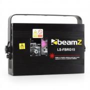 Beamz LS-FBRG15 laser show rosso verde