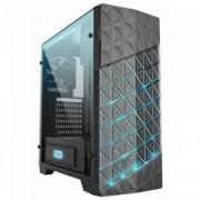 Кутия azza onyx 260x csaz-260x mid tower / черна / rgb, azza-case-onyx260x-b