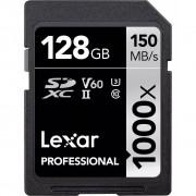 Lexar SDXC Professional 1000X 128GB UHS-II U3 V60, 150MB/s
