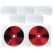 Pearl Doppel CD Slim Soft Boxen im 50er-Set, 7 mm, transparent