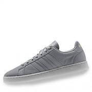 Adidas Grand Court Zapatillas para Hombre, Color Grey/Grey/Matte Gold, 9.5