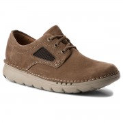 Обувки CLARKS - Unnature Plain 261320307 Olive Nubuck