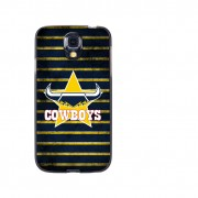 NRL Licensed North Queensland Cowboys Grunge Back Case for Samsung Galaxy S4