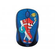 Mouse, LOGITECH M238 Doodle Collection - SNEAKER HEAD, Wireless (910-005050)