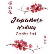 Japanese Writing Practice Book: Cute Watercolor Cherry Blossom Genkoyoushi Paper Japanese Character Kanji Hiragana Katakana Language Workbook Study Te, Paperback/Michelia Creations