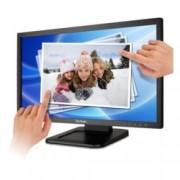 """Монитор 22"""" (55.90 cm) ViewSonic TD2220-2, мулти-тъч сензорен FULL HD LED, 5ms, 20 000 000:1, 200 cd/m2, DVI"""