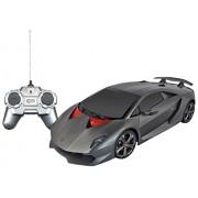 Webby Lamborghini Sesto Elemento 1:24 Remote Control Sports Car, Black