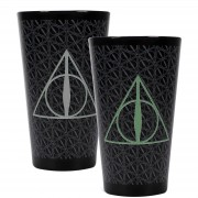 Half Moon Bay Harry Potter Colour Change Glass (Deathly Hallows)