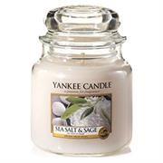 Yankee Candle Sea Salt And Sage Medium Jar Retail