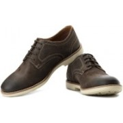 Clarks Raspin Walk Corporate Casuals For Men(Brown)