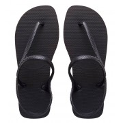 Havaianas Slippers Flipflops Flash Urban Zwart