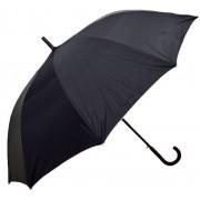 Umbrela Baston XL ICONIC Automata, Negru cu gri metalizat, Ø140cm, articulatii anti-vant