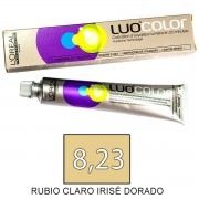 Loreal Tinte LUOCOLOR 8,23 de 50ml RUBIO CLARO IRISE DORADO