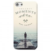 Back To The Future Funda Móvil Collect Moments, Not Things para iPhone y Android - iPhone 5/5s - Carcasa doble capa - Brillante