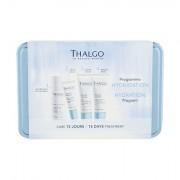 Thalgo Source Marine confezione regalo crema viso giorno 15 ml + maschera viso 15 ml + tonico detergente Éveil á la Mer 35 ml + siero viso 10 ml + škatlica