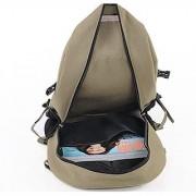 Aeoss Fashion shoulder strap solid zipper bag casual men backpack school bag designer canvas bag backpack Unisex