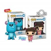 Set Sulley Y Boo Funko Pop Monsters Inc Pelicula Disney 2018