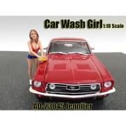 Car Wash Girl Jennifer Figurine / Figure For 1:18 Models by American Diorama 23845