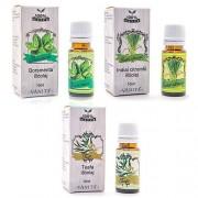 Vanita 3 db-os illóolaj csomag (borsmenta+citromfű+eukaliptusz)