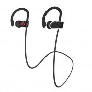 HOCO ES7 Ear Hooks Sport Wireless Bluetooth Earphone with Hands-free Mic for Samsung S8 - Black