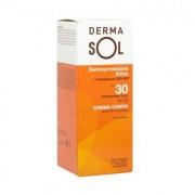 Dermasol crema solare corpo protezione alta 30spf 100 ml resistente all'acqua