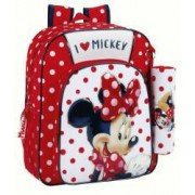Ghiozdan jr + penar Minnie Mouse 32 cm