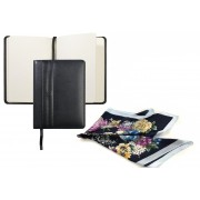 Elegant Black Gift Set Agenda Nina Ricci si Esarfa Flowers personalizabil
