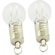 KBR PRODUCT 1+1 combo attractive design indicator led bulb shape USB 2.0 media storage device 32 GB Pen Drive(Silver)