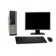 """Dell Optiplex 3010 SFF 27"""" Core i5 3,1 GHz SSD 480 GB 4GB"""