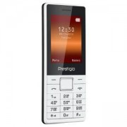 Мобилен телефон Prestigio Muze A1 (бял) поддържа 2 sim карти, 2.4 (6.10cm), Mediatek MTK 6261D, 32MB RAM, 32MB Flash памет, PFP1241DUOWHITE