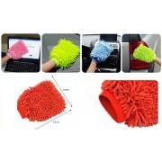 Čistící rukavice prachovka mikrovlákno