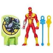 Jucarie Marvel Ultimate Spider-Man Web Warriors Web Slingers Iron Spider Figure