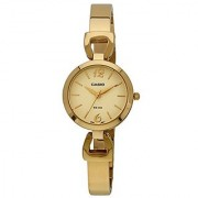Casio Enticer Analog Gold Dial Womens Watch - Ltp-E402G-9Avdf(A980)