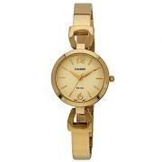 Casio Enticer Analog Gold Dial Womens Watch - Ltp-E402G-9Avdf(A980)