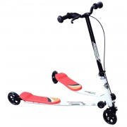 HOMCOM Kids 3 Wheels Speeder Scooter-Red