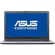 Laptop Asus VivoBook X542UA-GO469 15.6 inch HD Intel Pentium 4405U 4GB DDR4 500GB HDD Endless OS Dark Grey