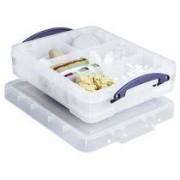 Really Useful Box 11 liter, transparant