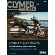 Harley-Davidson FLH/FLT Touring Series 2006-2009 [With CDROM], Paperback