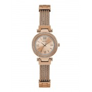 Guess Horloge Band Schakels Staal - roze goud - Size: T/U