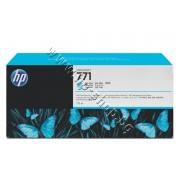 Мастило HP 771C, Light Cyan (775 ml), p/n B6Y12A - Оригинален HP консуматив - касета с мастило