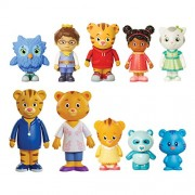 Daniel Tiger's Neighborhood Friends and Family Figure Set (10 Pack) [Amazon Exclusive]