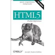 HTML5 Pocket Reference, Paperback/Jennifer Niederst Robbins