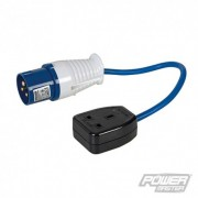 PowerMaster 16 A - 13 A Redukce - 16A Plug to 13A Socket 341082 5024763048265