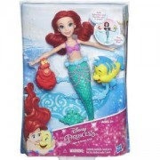 Дисни Принцеси - Кукла Ариел, която плува и се върти - Disney Princess, 034008