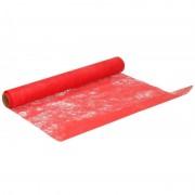 Geen Hobby stof op rol rood 5 meter